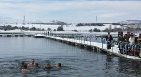 Σε συνθήκες παγετού ο αγιασμός των υδάτων