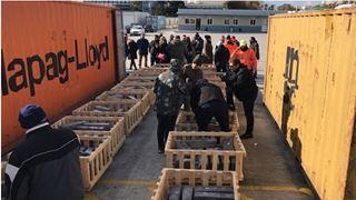 Nέο βίντεο από την ελληνοτουρκική επιχείρηση στον Πειραιά για τα ναρκωτικά των τζιχαντιστών