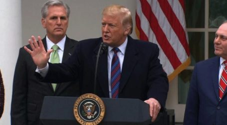 Διάγγελμα για τη μετανάστευση και τα νότια συνόρα θα απευθύνει την Τρίτη ο Τραμπ