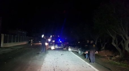 Ένας νεκρός και τρεις τραυματίες σε τροχαίο στην Ιεράπετρα