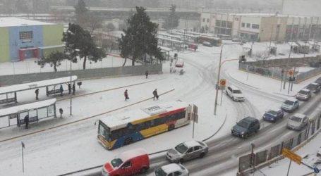 Κανονικά η κυκλοφορία των αστικών λεωφορείων στο κέντρο της Θεσσαλονίκης