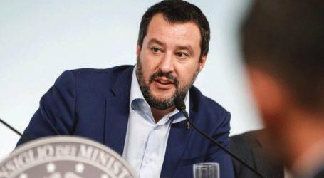 Δυσαρεστημένος ο Σαλβίνι με τη θετική εξέλιξη για τους μετανάστες στη Μάλτα