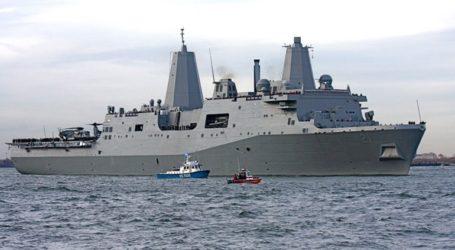 Και δεύτερο αμερικανικό πλοίο στον Παγασητικό Kόλπο