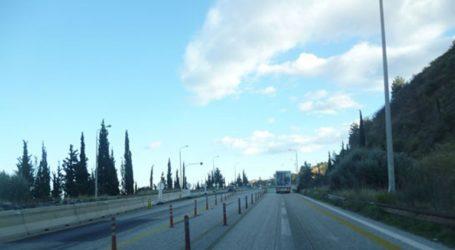 Διακοπή της κυκλοφορίας στην παλαιά εθνική οδό Πατρών – Κορίνθου στο ύψος της γέφυρας του Μεγανίτη