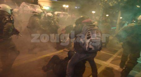 Ένταση στην πορεία κατά της Μέρκελ στο κέντρο της Αθήνας