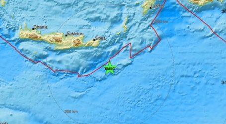 Σεισμική δόνηση 4,4R στην Κρήτη