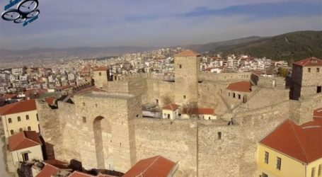 Το Γεντί Κουλέ της Θεσσαλονίκης από ψηλά!