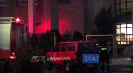Παρελήφθη από την Πυροσβεστική ο ύποπτος φάκελος από το Πανεπιστήμιο Πελοποννήσου