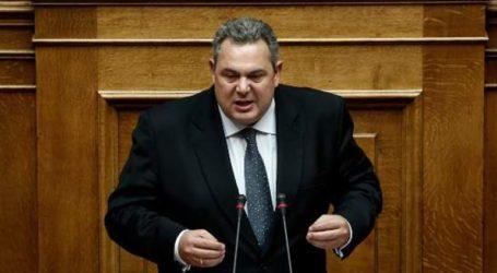 «Η μόνη διαφορά μας στην κυβέρνηση συνεργασίας είναι το όνομα της Μακεδονίας»