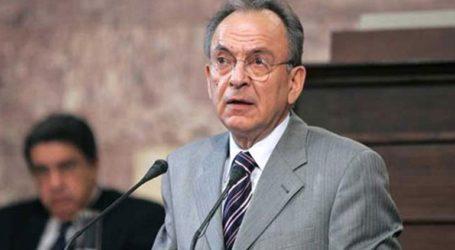 Πέθανε σε ηλικία 75 ετών ο πρώην πρόεδρος της Βουλής και υπουργός Δημήτρης Σιούφας