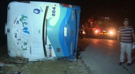 Τροχαίο δυστύχημα τουριστικού λεωφορείου με επτά νεκρούς και δεκάδες τραυματίες