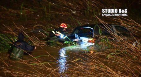 Επιχείρηση της Πυροσβεστικής για αυτοκίνητο που έπεσε στο ποτάμι