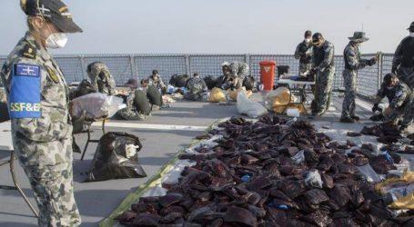 3,1 τόνοι χασίς κατασχέθηκαν στην Αραβική Θάλασσα από το αυστραλιανό Πολεμικό Ναυτικό