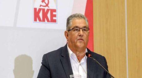 Το ΚΚΕ θα καταψηφίσει και αυτήν την κυβέρνηση την οποία πρέπει να καταδικάσει και ο λαός