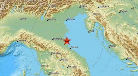 Σεισμική δόνηση 4,6R στην Τσεζένα της Ιταλίας