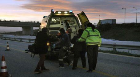 Τροχαίο δυστύχημα στην Εθνική Οδό