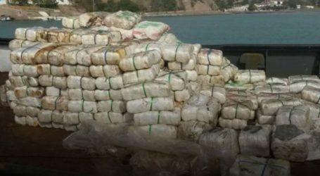 Περισσότερους από 12 τόνους κατεργασμένης κάνναβης μετέφερε το ρυμουλκό «Αndreas» που εντόπισαν λιμενικοί στη Κρήτη