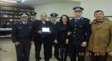 Βραβεύτηκε από τον Δήμο Μάνδρας, ο αστυνομικός Γεώργιος Ρούσσης