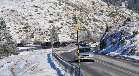 Αποκαταστάθηκε η κυκλοφορία στην λεωφόρο Πάρνηθας