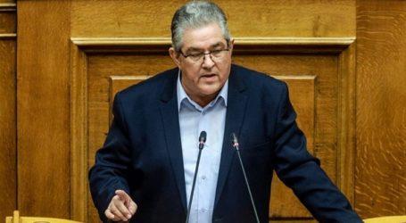 Κουτσούμπας: «Καταψηφίζουμε ξεκάθαρα την κυβέρνηση»