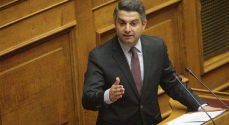 Επίθεση Κωνσταντινόπουλου σε Κρεμαστινό για τα όσα είπε περί διαλόγου ΚΙΝΑΛ-ΣΥΡΙΖΑ