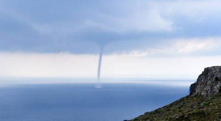107 ανεμοστρόβιλοι και υδροσίφωνες στην Ελλάδα το 2018