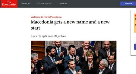 Ο Economist κυκλοφορεί με τίτλο: «Welcome to North Macedonia»