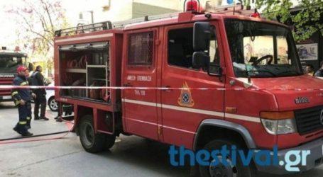 Πυρκαγιά σε εργοστάσιο στη ΒΙΠΕΘ Σίνδου