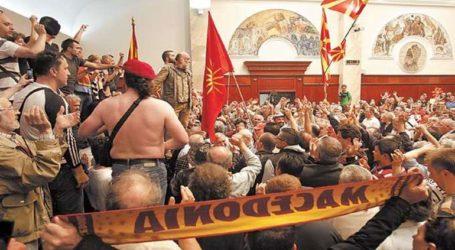 «ΝΔ και VMRO είναι οι δύο όψεις του ίδιου νομίσματος. Αυτού της πατριδοκαπηλίας»