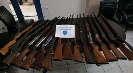 Χειροπέδες σε 56χρονο για παράνομη οπλοκατοχή και πλημμελή φύλαξη όπλων