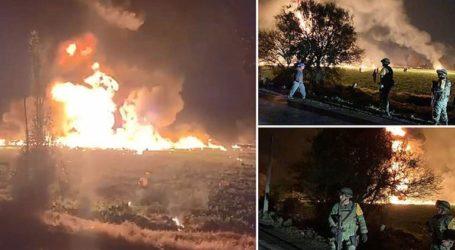Τουλάχιστον 21 οι νεκροί από την έκρηξη του αγωγού