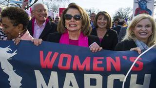 Διαδήλωση γυναικών κατά του Τραμπ