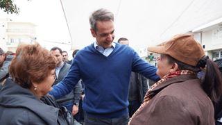 Περιοδεία στην Κρήτη πραγματοποιεί ο Πρόεδρος της Νέας Δημοκρατίας, Κ. Μητσοτάκης