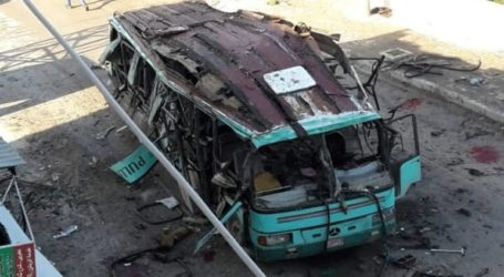 Τρεις νεκροί από την έκρηξη βόμβας που είχε τοποθετηθεί σε λεωφορείο στην Αφρίν