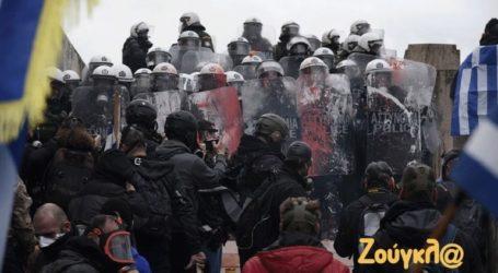 Δώδεκα προσαγωγές και επτά συλλήψεις για τα επεισόδια στο συλλαλητήριο