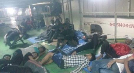 Στο λιμάνι της Μιζουράτα οι 100 μετανάστες που διασώθηκαν ανοικτά της Λιβύης