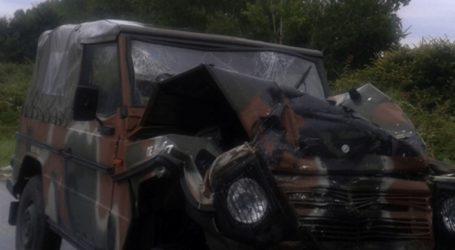 Δύο στρατιώτες τραυματίστηκαν σε τροχαίο στη Σύμη