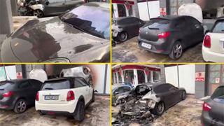 Ανάληψη ευθύνης για τον εμπρησμό οχημάτων του ιδιοκτήτη της αλυσίδας των φούρνων «Χωριάτικο»