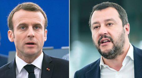Ο Σαλβίνι ελπίζει να εξασθενήσει η υποστήριξη του γαλλικού λαού προς τον Μακρόν
