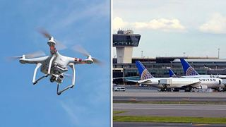 Drone προκάλεσε προβλήματα στο αεροδρόμιο του Νιούαρκ
