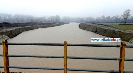 Ανεβαίνουν οι στάθμες των ποταμών από τις έντονες βροχοπτώσεις