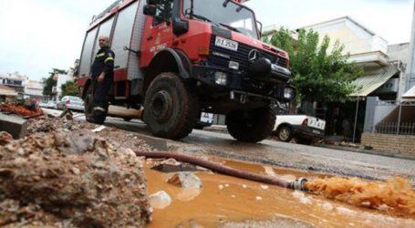 Προβλήματα από τις ισχυρές βροχοπτώσεις που πλήττουν την Ήπειρο