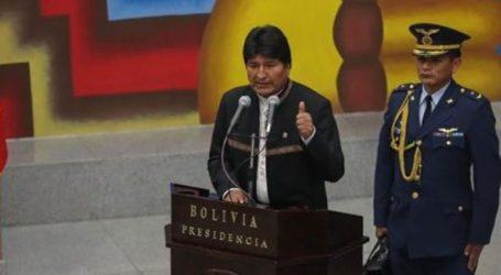Ο πρόεδρος Έβο Μοράλες εκφράζει αλληλεγγύη στην κυβέρνηση του Νικολάς Μαδούρο