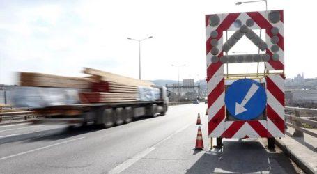 Διακοπή κυκλοφορίας σε τμήμα της Εθνικής Οδού Θεσσαλονίκης-Μουδανιών λόγω εργασιών