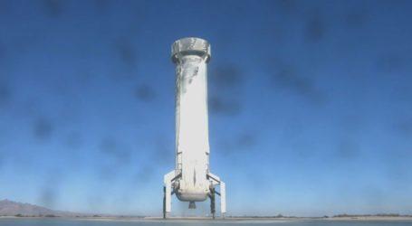 Πραγματοποιήθηκε η δέκατη δοκιμαστική πτήση του επαναχρησιμοποιούμενου πυραύλου New Shepard