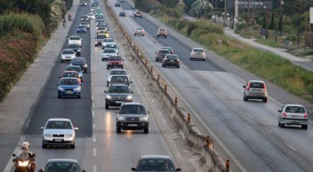 Κανονικά η κυκλοφορία το τμήμα της Εθνικής Οδού Θεσσαλονίκης