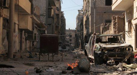 Παγιδευμένο αυτοκίνητο εξερράγη στη Δαμασκό προκαλώντας υλικές ζημιές