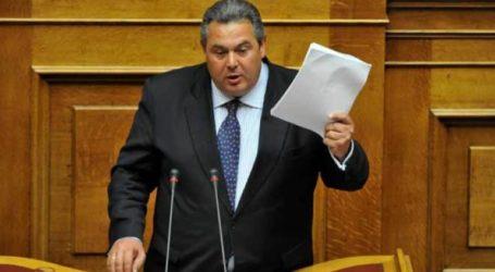 Παραιτήσεις βουλευτών για να μην περάσει η Συμφωνία των Πρεσπών πρότεινε ο Π. Καμμένος