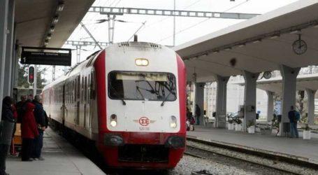 Διακόπτονται τα δρομολόγια των τρένων στο τμήμα Λιανοκλάδι