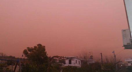 Αφρικανική σκόνη στην Κρήτη